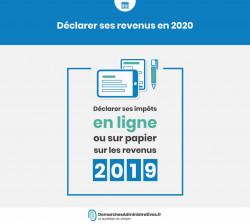 Déclaration d'impôts 2020 : Mode d'emploi