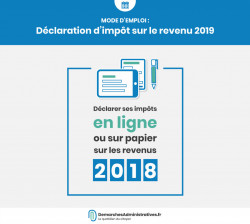 Faire sa déclaration d'impôt 2019