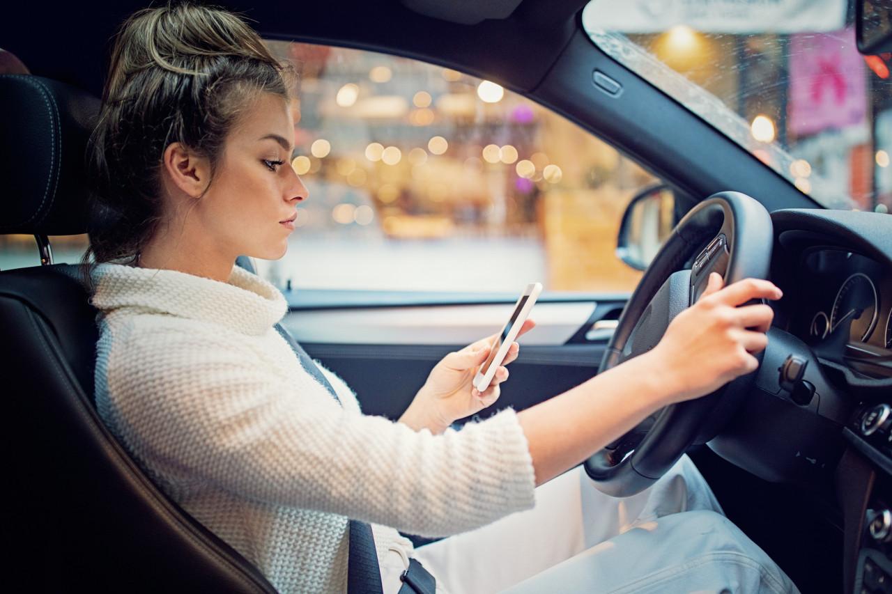 Les sanctions de l'usage du téléphone au volant