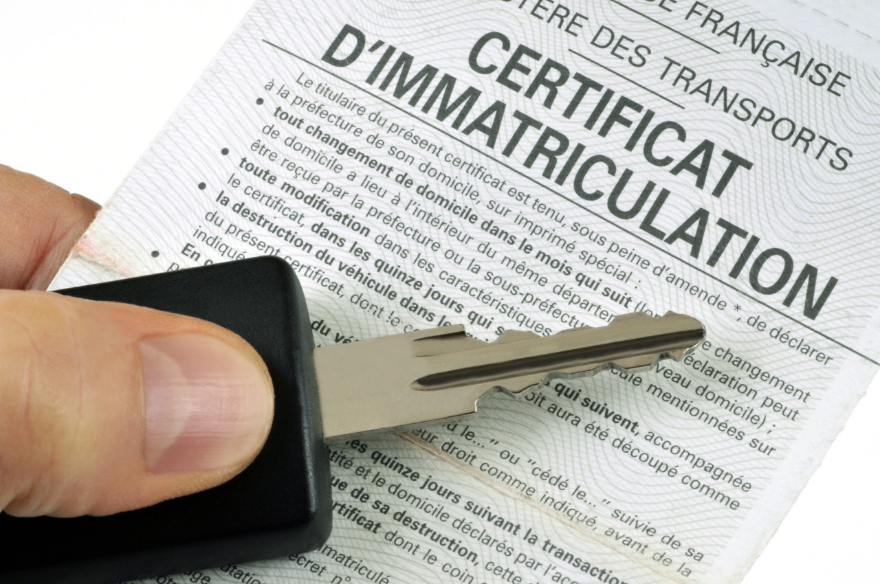 Duplicata d'un certificat d'immatriculation : documents à fournir et demande