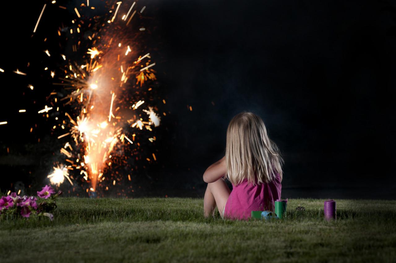 Les règles à respecter pour organiser un feu d'artifice dans son jardin