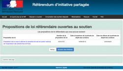 Les citoyens invités à soutenir une proposition de loi référendaire