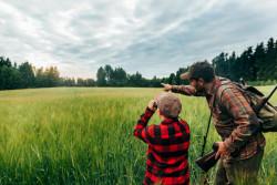 Pratiquer la chasse accompagnée
