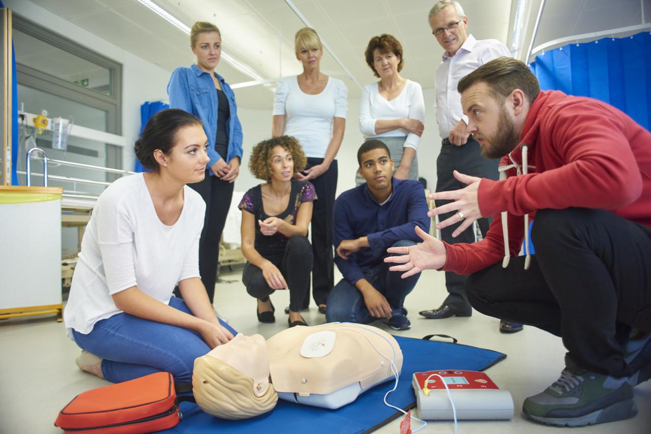 Formations de la Croix-Rouge : Apprendre les gestes de premiers secours
