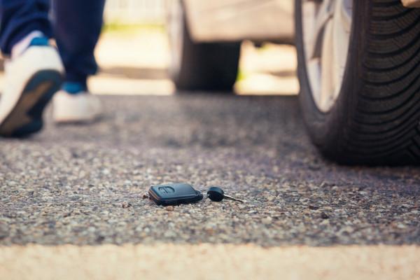 Procédure à suivre en cas de perte de clé de voiture