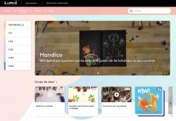 Trouver des contenus pédagogiques gratuits sur Lumni