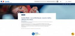 Antibio'Malin: Un espace en ligne pour apprendre à mieux utiliser les antibiotiques