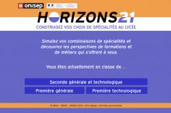 Choisir ses options pour le bac avec Horizons21