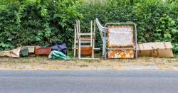 Amende administrative pour abandon d'ordures et d'encombrants sur la voie publique