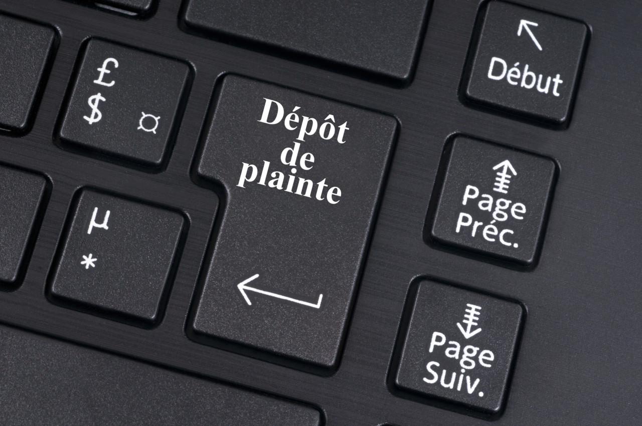Porter plainte en ligne