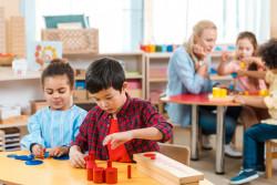 École Montessori : inscrire son enfant