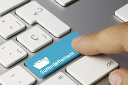 Surendettement : dépôt de demande en ligne