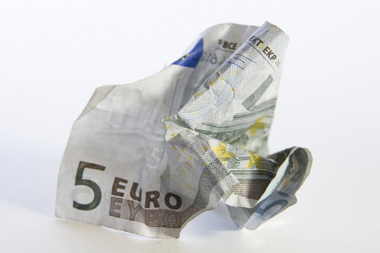 Échanger des billets de banque abimés