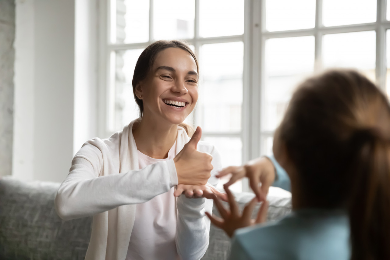 Apprendre la langue des signes