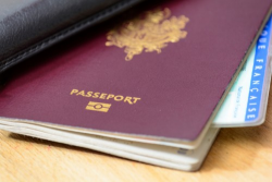 Vol d'un passeport biométrique