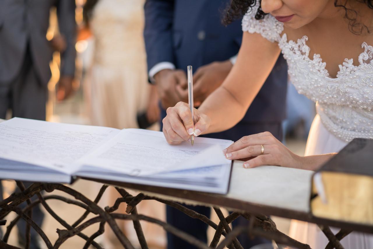 Mariage ne datant pas coupé
