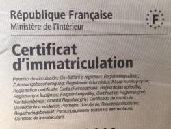 Obtenir un duplicata d'un certificat d'immatriculation