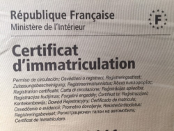 Comment obtenir un duplicata d'un certificat d'immatriculation ?