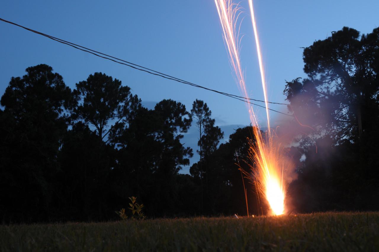 Règlementation des pétards et feux d'artifice