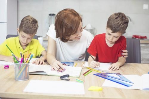 École à la maison : évaluation des connaissances