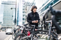 Vélos en ville: où stationner?