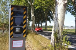 Carte des radars sur les routes françaises