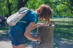 Emplacement des fontaines d'eau potable en libre accès à Paris