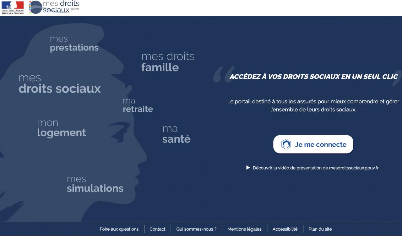 Accéder à l'ensemble de ses droits sociaux depuis le portail mesdroitssociaux.gouv.fr
