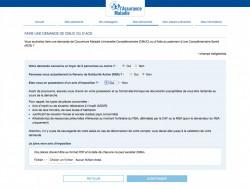 Effectuer une demande de CMU-C ou d'ACS en ligne